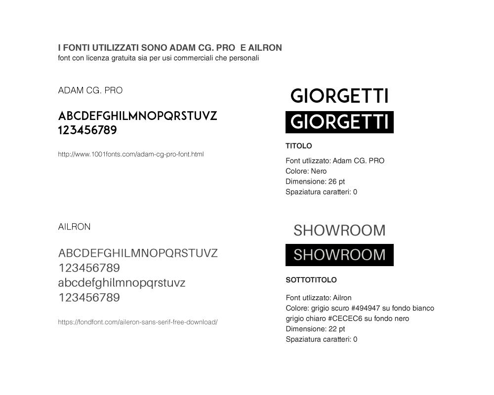 Show room giorgetti