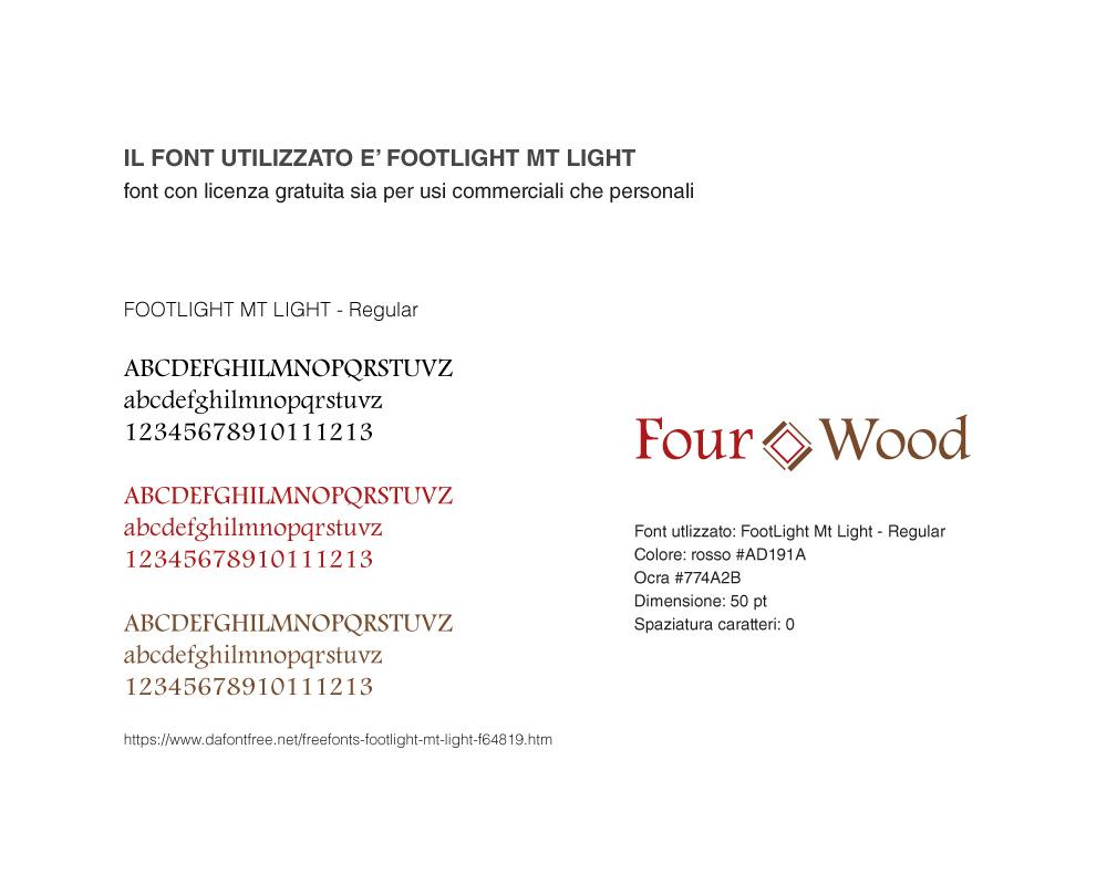 Studio Font Four Wood
